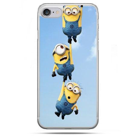 Etui na telefon iPhone 8 - spadające minionki