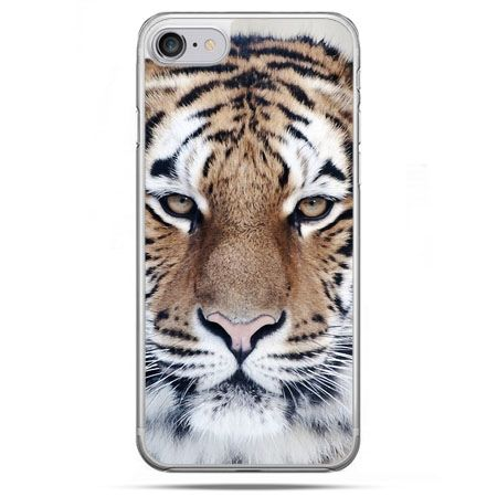 Etui na telefon iPhone 8 - śnieżny tygrys