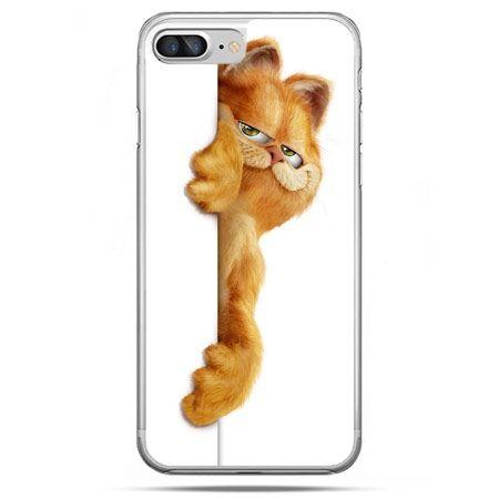 Etui na telefon iPhone 8 Plus - Kot Garfield