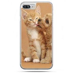 Etui na telefon iPhone 8 Plus - jak pies i kot