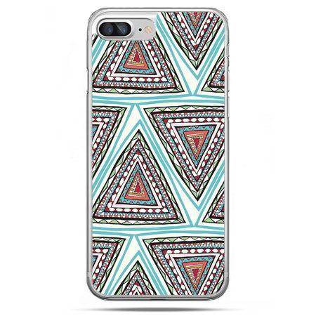 Etui na telefon iPhone 8 Plus - Azteckie trójkąty