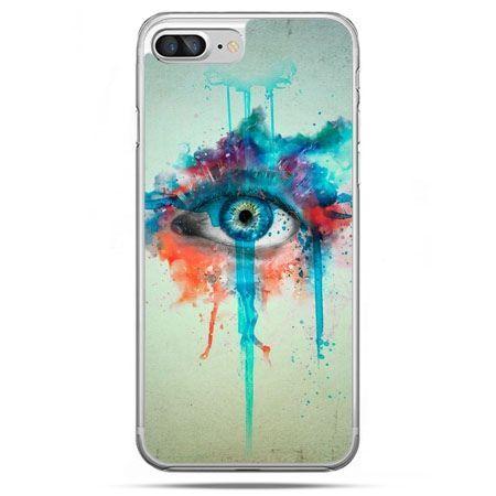 Etui na telefon iPhone 8 Plus - oko
