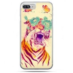 Etui na telefon iPhone 8 Plus - egzotyczny tygrys