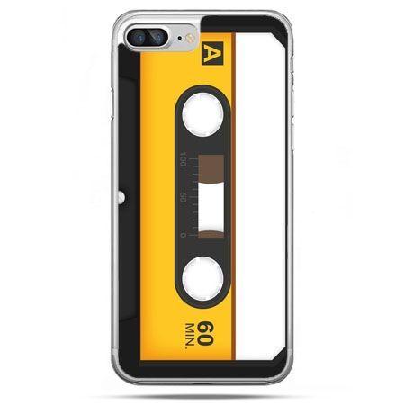 Etui na telefon iPhone 8 Plus - kaseta magnetofonowa