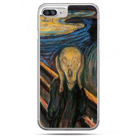 Etui na telefon iPhone 8 Plus - Krzyk Munka
