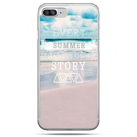 Etui na telefon iPhone 8 Plus - Summer has its own story