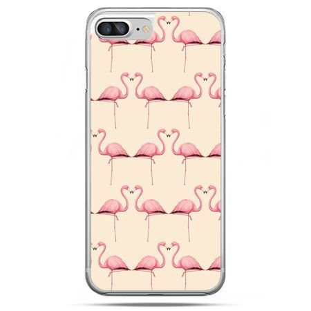 Etui na telefon iPhone 8 Plus - flamingi