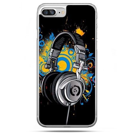 Etui na telefon iPhone 8 Plus - słuchawki