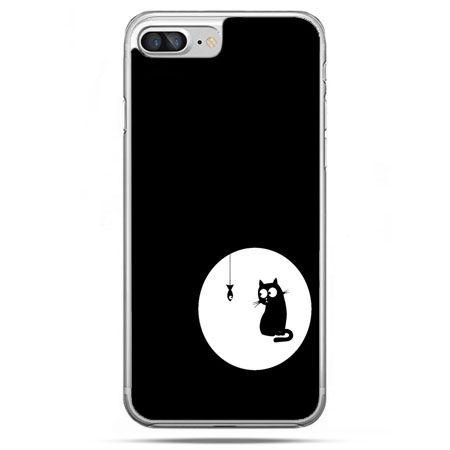 Etui na telefon iPhone 8 Plus - kotek