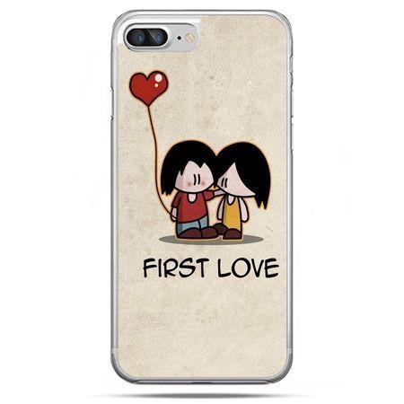 Etui na telefon iPhone 8 Plus - First Love