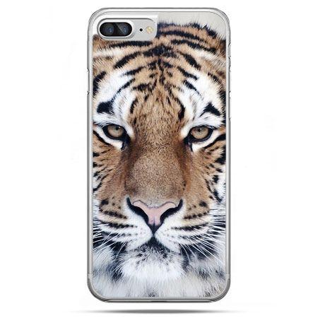 Etui na telefon iPhone 8 Plus - śnieżny tygrys