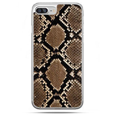 Etui na telefon iPhone 8 Plus - wąż boa