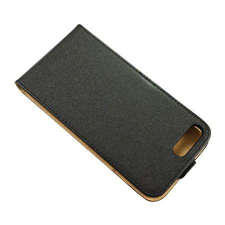 Etui na telefon iPhone 8 Plus - kabura z klapką - Czarny.