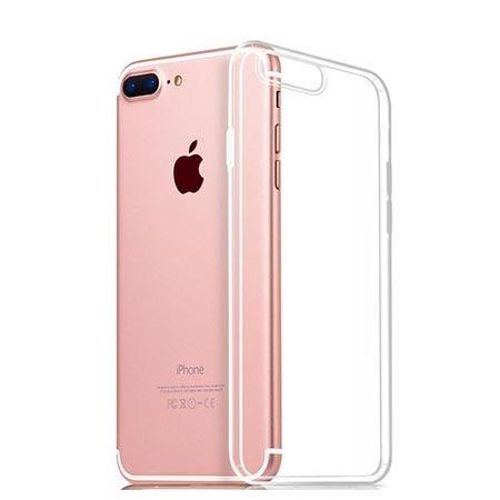 Etui na iPhone 7 Plus silikonowe crystal clear - bezbarwne.