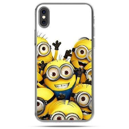 Etui na telefon iPhone X - Minionki