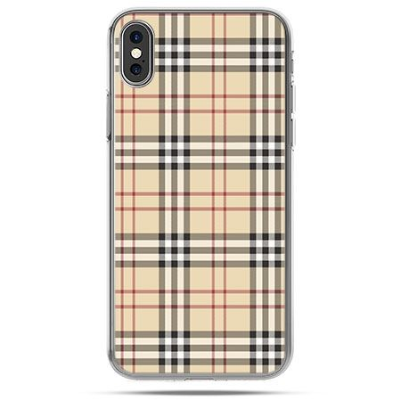 huge discount c7e68 4b0ad Etui na telefon iPhone X - kratka Burberry