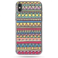 Etui na telefon iPhone X - Azteckie wzory