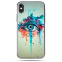 Etui na telefon iPhone X - oko