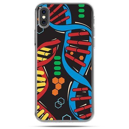 Etui na telefon iPhone X - DNA