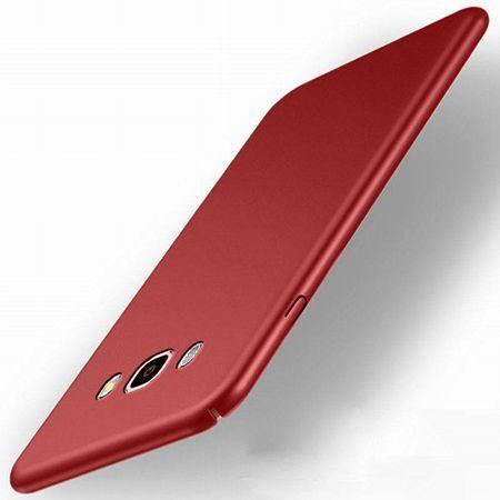 Etui na telefon Samsung Galaxy J5 2016 Slim MattE - czerwony.