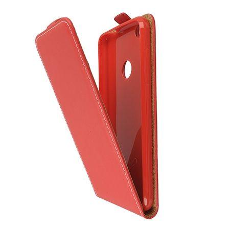 Etui na telefon Huawei P9 Lite 2017 - kabura z klapką - Czerwony.