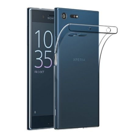 Etui na Xperia XZ Premium silikonowe, przezroczyste crystal case.
