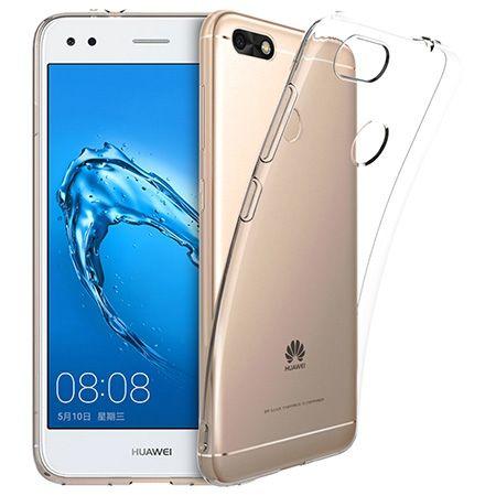 Huawei P9 Lite mini - silikonowe, przezroczyste crystal case.