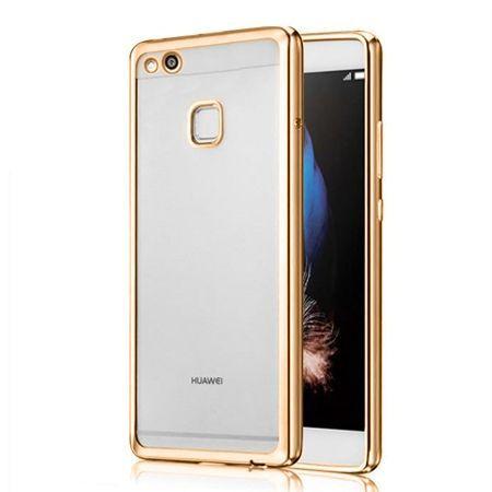 Platynowane etui na Huawei P10 Lite silikonowe SLIM tpu - Złoty.