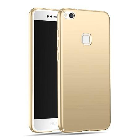 Etui na telefon Huawei P10 Lite - Slim MattE - Złoty.