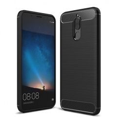 Etui na Huawei Mate 10 Lite - bumper Neo CARBON - Czarny.