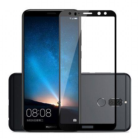 Hartowane szkło na cały ekran 3d Huawei Mate 10 Lite - Czarny.