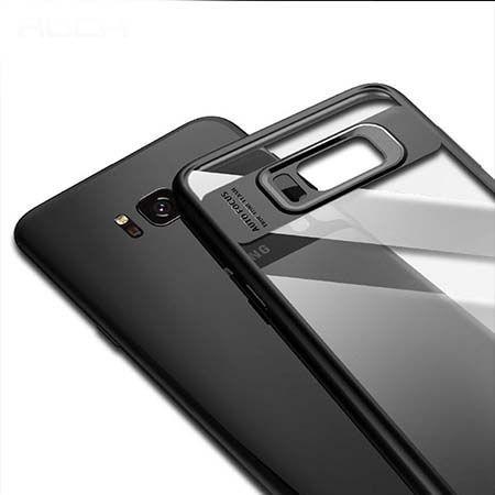 Etui na Samsung Galaxy S8 Plus - ROCK Clarity - Czarny.