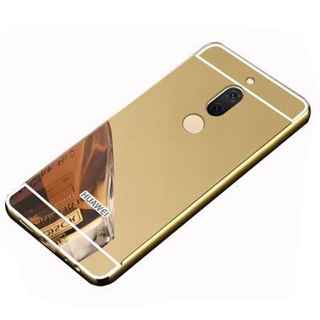 Etui na Huawei Mate 10 Lite Mirror bumper case - Złoty.
