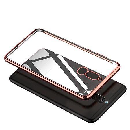 Etui na Huawei Mate 10 Lite platynowane  SLIM tpu - Różowy.