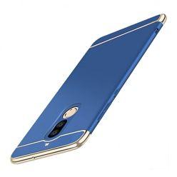 Etui na telefon Huawei Mate 10 Lite - Slim MattE Platynowane - Granatowy.