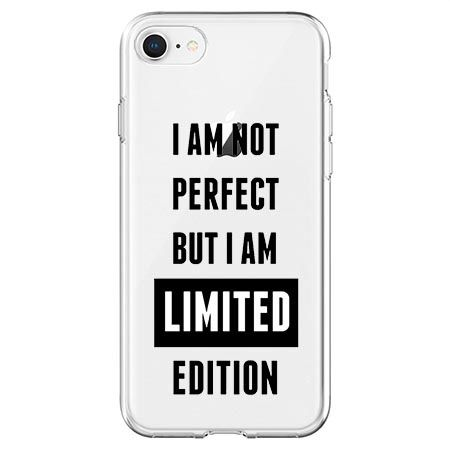 Etui na telefon - I Am not perfect…