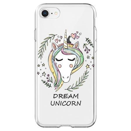 Etui na telefon - Dream unicorn - jednorożec.