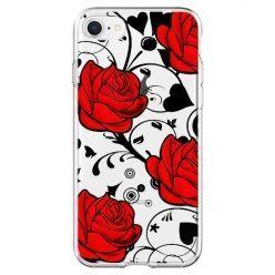 Etui na telefon - czerwone róże.