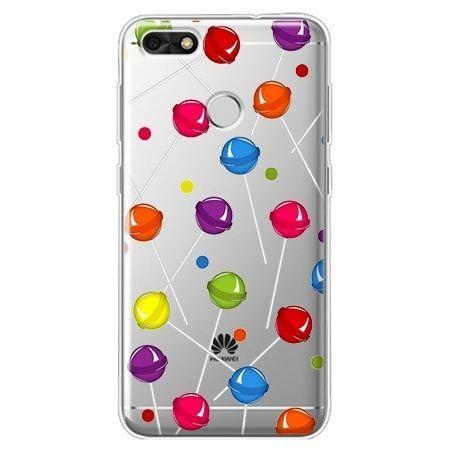 Etui na Huawei P9 Lite mini - kolorowe lizaki.