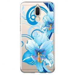 Etui na Huawei Mate 10 lite - niebieski kwiat północy.