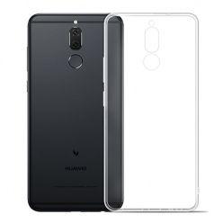 Etui na Huawei Mate 10 Lite -  silikonowe crystal case - bezbarwne.