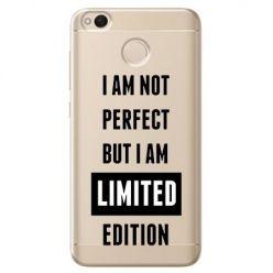 Etui na Xiaomi Redmi 4X - I Am not perfect…