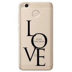 Etui na Xiaomi Redmi 4X - All you need is LOVE.