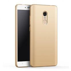Etui na telefon Xiaomi Redmi Note 4 - Slim MattE - Złoty.