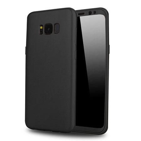 Etui na telefon Samsung Galaxy S8 - Slim MattE 360 - Czarny.