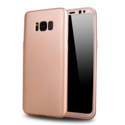 Etui na telefon Samsung Galaxy S8 Plus - Slim MattE 360 - Różowy.
