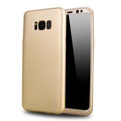 Etui na telefon Samsung Galaxy S8 Plus - Slim MattE 360 - Złoty.