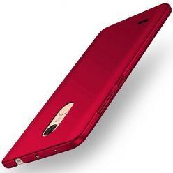 Etui na telefon LG K10 2017 - Slim MattE - Czerwony.