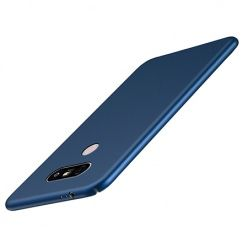 Etui na telefon LG G6 -Slim MattE - Granatowy.
