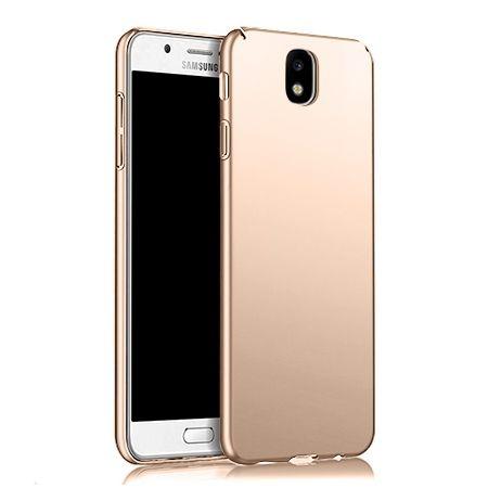 Etui na telefon Samsung Galaxy J7 2017 -  Slim MattE - Złoty.